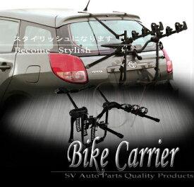 サイクルキャリア Land Rover 3 Bike/Bicycles Carrier Rack Rear Trunk Black Back Mount Holder Set ランドローバー3バイク/キャリアリアトランク黒バックマウントホルダーセットラック自転車