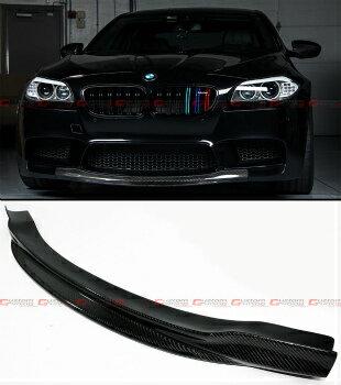 BMW M5 エアロ R STYLE CARBON FIBER FRONT BUMPER CENTER CHIN LIP SPOILER FOR 2012-2016 BMW M5 R STYLE炭素繊維2012から2016 BMW M5用フロントバンパーセンターCHIN LIPスポイラー