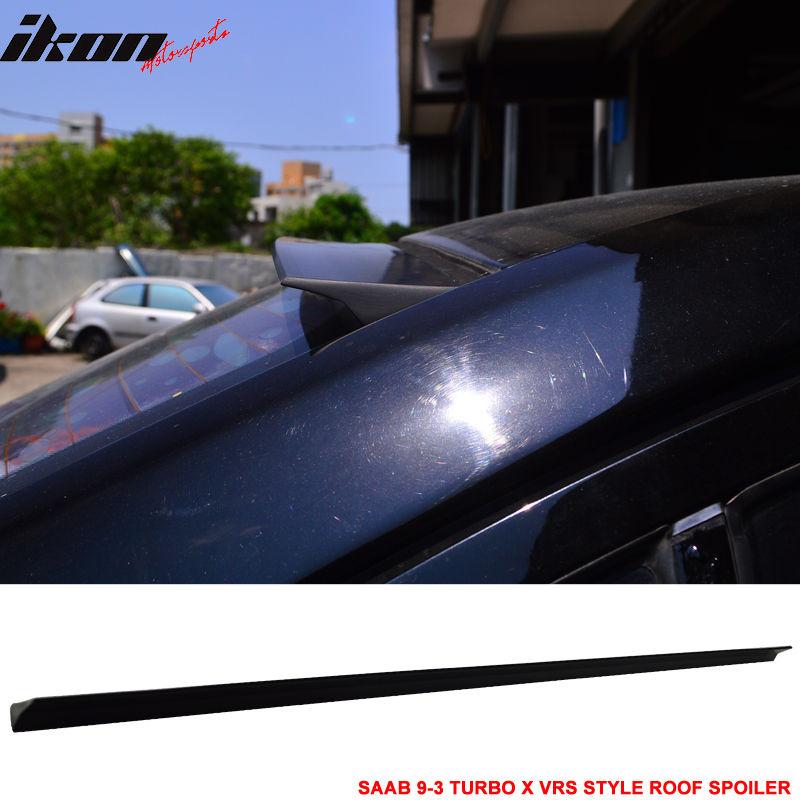 USスポイラー 08-12 SAAB 9-3& ターボX VRSスタイル未塗装リアルーフスポイラーウイングバイザー - PUF 08-12 SAAB 9-3 & Turbo X VRS Style Unpainted Rear Roof Spoiler Wing Visor - PUF