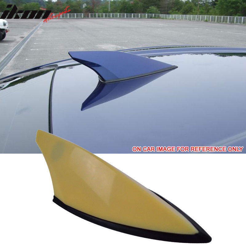 USスポイラー フィット13-17スバルBRZサイオンFRS GT86未塗装ルーフアンテナシャークフィンカバーABS Fits 13-17 Subaru BRZ Scion FRS GT86 Unpainted Roof Antenna Shark Fin Cover ABS