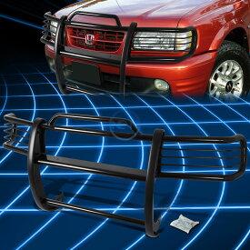 グリル ブラックブラシバンパープロテクターグリルガード(1998-2002用)Passport / Rodeo Sport Black Brush Bumper Protector Grille Guard for 1998-2002 Passport/Rodeo Sport
