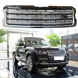 グリル レンジローバースポーツ2014-16用バンパーカーグリルガードメッシュインサートトリムハニカム For Range Rover Sport 2014-16 Bumper Car Grill Guard Mesh Insert Trim Honeycomb