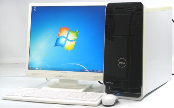 DELL Studio XPS 8000-2670MT■19液晶セット (デル Windows7 Corei5 DVDスーパーマルチドライブ グラボ ビデオカード GeForce) 【中古】 【中古パソコン/中古PC】