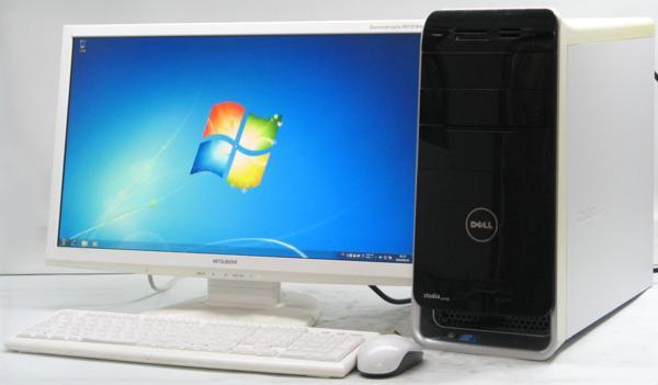 DELL Studio XPS 8000-2670MT■23液晶セット (デル Windows7 Corei5 DVDスーパーマルチドライブ グラボ ビデオカード GeForce) 【中古】 【中古パソコン/中古PC】