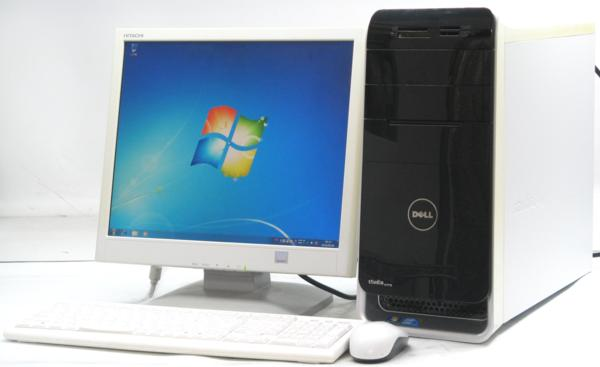 DELL Studio XPS 8000-2670MT■17液晶セット (デル Windows7 Corei5 DVDスーパーマルチドライブ グラボ ビデオカード GeForce) 【中古】 【中古パソコン/中古PC】