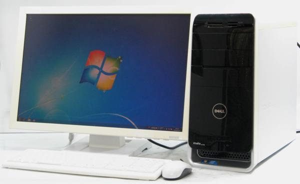 DELL Studio XPS 8000-2670MT■24液晶セット (デル Windows7 Corei5 DVDスーパーマルチドライブ グラボ ビデオカード GeForce) 【中古】 【中古パソコン/中古PC】