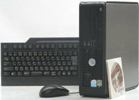 中古デスクトップパソコン DELL Optiplex 755-C2000SF(デル Windows Vista)【中古】【中古パソコン/中古PC】