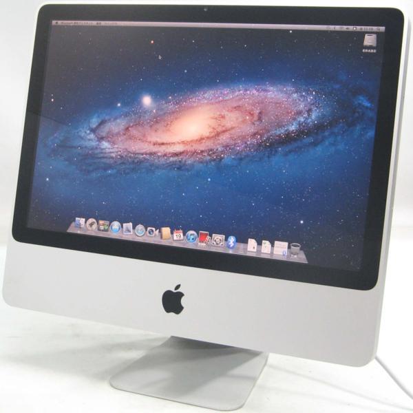 Apple iMac MB417J/A■20インチ(アップル マック マッキントッシュ グラボ ビデオカード GeFoce)【中古】中古MAC