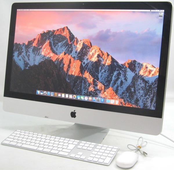 Apple iMac MC511J/A■27インチ(アップル マック マッキントッシュ Corei7 グラボ ビデオカード)【中古】中古MAC