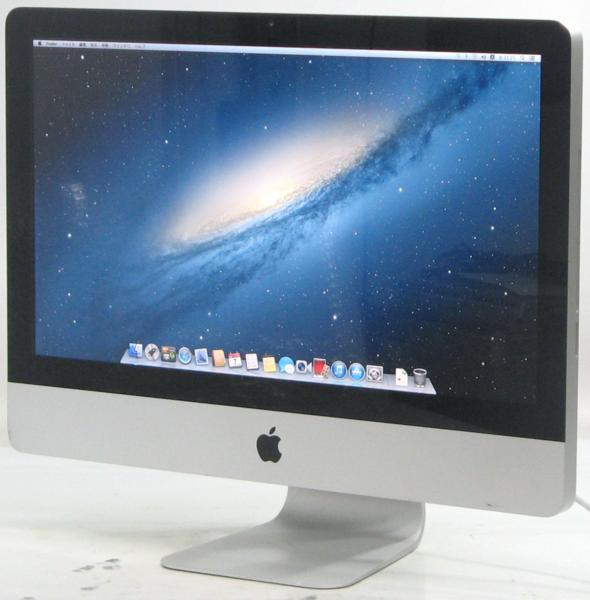 Apple iMac MC812J/A■21.5インチ(アップル マック マッキントッシュ Corei5 グラボ ビデオカード)【中古】中古MAC