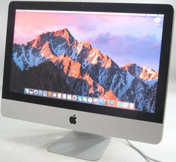 Apple iMac MC309J/A ■21.5インチ(アップル マック マッキントッシュ Corei5 グラボ ビデオカード)【中古】中古MAC