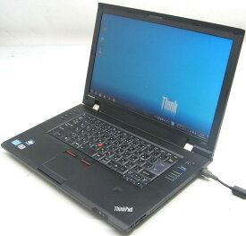 中古ノートパソコン Lenovo ThinkPad L520 5015-A73(レノボ IBM Windows7 Corei5 15.6インチ グラボ ビデオカード DVDスーパーマルチドライブ)【中古】【中古パソコン/中古PC】