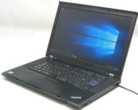 中古ノートパソコン Lenovo ThinkPad T510 4313-A11(レノボ IBM Windows10 Corei7 15.6インチ)【中古】【中古パソコン/中古PC】
