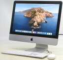 Apple iMac ME086J/A Corei5 2.7GHz 8GB HDD1TB 21.5インチ Mac OS 10.15.3 無線 Bluetooth Webカメラ マック マッキ…