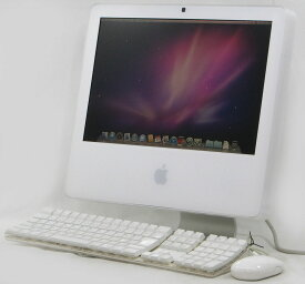 アイマック 中古 Apple iMac MA406J/A 17インチ CoreDuo OS 10.6.8 中古 Macintosh ノートパソコン 【中古パソコン】【中古】