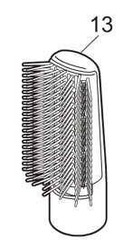 【定形外郵便対応可能】ブローブラシのみ パナソニック EH-KE16用くるくるドライヤーイオニティ替ブローブラシ EHKE16WH7617(白)EH-KE16-A EH-KE16-P A,P共用