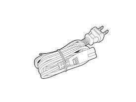 【定形外郵便対応可能】 Panasonic パナソニックブルーレイ/DVDレコーダー「DIGA」用 電源コード部品コード:K2CA2YY00269【宅コ】