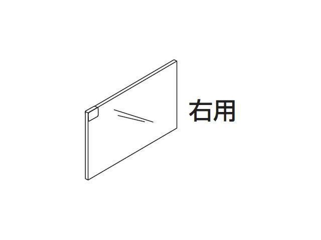 ☆パナソニック(Panasonic)☆ ホームシアター ラックシアター用 ガラス扉(右用)部品コード:RFA2968A 純正部品 消耗品