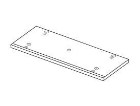 Panasonic(パナソニック)ホームシアター ラックシアター用 底板(ミディアムウッド)部品コード:RFA3186