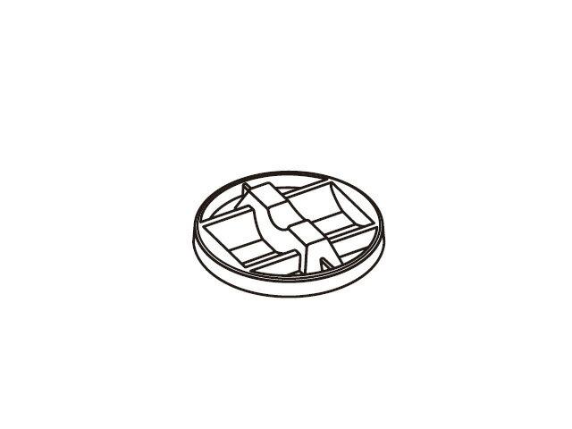 【小型宅配便(定型外郵便)対応可能】☆パナソニック(Panasonic)☆ ホームシアター ラックシアター用 キャスター座部品コード:RKA0271-K1 純正部品 消耗品