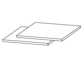 ☆パナソニック(Panasonic)☆ ホームシアター ラックシアター用 棚板(1枚)部品コード:RKQ2G0004-K 純正部品 消耗品
