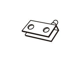 【定形外郵便対応可能】Panasonic(パナソニック)ホームシアター ラックシアター用 ガラス扉取り付け用金具部品コード:RMA2380