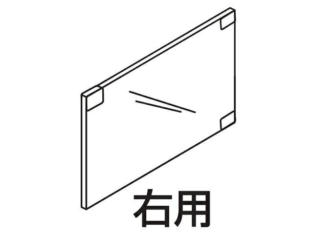☆パナソニック(Panasonic)☆ ホームシアター ラックシアター用 ガラス扉(右用)部品コード:RXQ1952 純正部品 消耗品