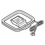 【小型宅配便(定型外郵便)対応可能】SHARP 純正部品コード:1125020025 ◆シャープ(1ビットDVD/MDシステム)用◆◆1ビットDVD/MDシステム用AMループアンテナ当商品は1125020026と同等品になります。■新品 純正AMループアンテナ
