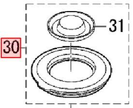 【あす楽★W9】【定形外郵便対応可能】【Panasonic パナソニック(National ナショナル)】 ジューサーミキサー用 外内ふたセット 部品番号:AMX92B-200