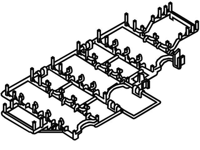【小型宅配便(定型外郵便)対応可能】☆パナソニック(Panasonic)☆ 食器洗い乾燥機用 カゴB部品コード:ANP2125-2E0 純正部品 消耗品