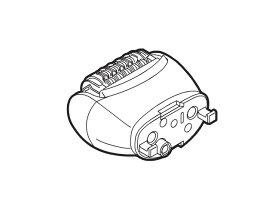 【定形外郵便対応可能】 Panasonic パナソニック除毛・脱毛器 アシ・ウデ用脱毛ヘッド駆動部部品コード:ESED61W1067