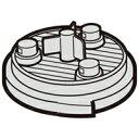 SHARP(シャープ) 掃除機用 高性能プリーツフィルター部品コード:2173370491 純正部品 消耗品