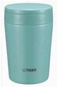 タイガー魔法瓶 ステンレスボトル 携帯ボトル 「Soup Cup」 (0.38L) MCL-A038-AM ミントブルー タイガー コンパクト 軽い 広口 清潔 丸洗い