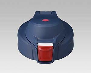 【1点まで、定形外郵便対応可能】TIGER タイガー アディダス 水筒 ふた キャップのみ(パッキン付) ネイビー部品コード:MME1160 ステンレスボトル サハラ