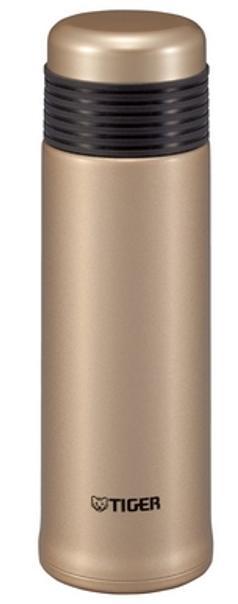 タイガー魔法瓶 ステンレスボトル 水筒 「サハラスリム」 (0.40L) MSE-A040-NT シャンパンゴールド タイガー SAHARA サハラ 夢重力 軽い マグ 清潔 業界最軽量