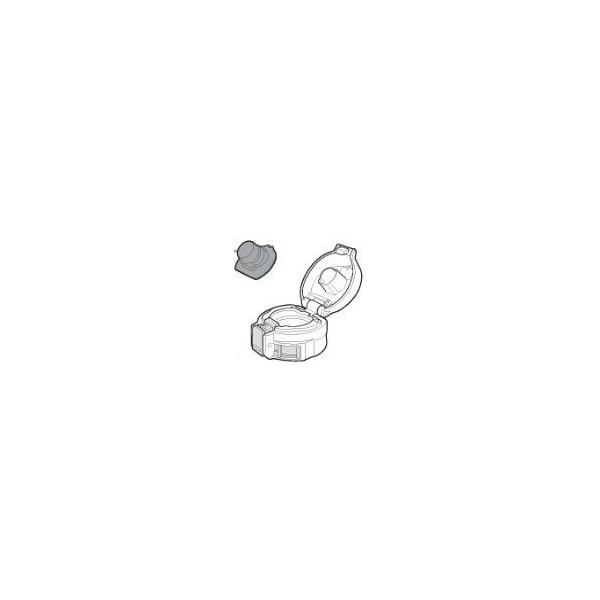 【最大購入数3点まで】【小型宅配便(定型外郵便)対応可能】象印 水筒部品 交換部品 消耗品 ステンレスボトル せんカバーセット(クリアレッド)/BB474807L-03★中栓は付いておりません。