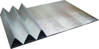 铝辊垫折叠类型 スリムジャバ / 休闲垫 LL 大小宽度为 1。2 米 (长 1.85 米) U P849 铝合金折叠帐篷垫、 户外地垫、 热障床单、 瑜伽垫、 银马特) 其他