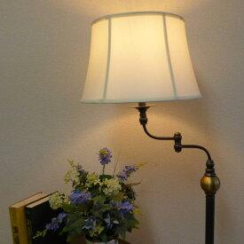 スタンドライト フロアライト ランプ ライト アンティーク アンティーク調 スタンドランプ フロアランプ フロアスタンドライト おしゃれ ベッドサイド ベッド 高級 寝室 リビング クラシック テイスト モダン LED シェード シェードランプ 照明 BO-2586-SWFL CAL lighting