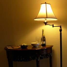 スタンドライト フロアライト スタンドランプ アンティーク ランプ ライト フロアランプ フロアスタンドライト アンティーク調 おしゃれ ベッドランプ ベッドサイド 高級 ベッド 寝室 クラシック テイスト LED シェード アメリカン 照明 581SWFL CALlighting