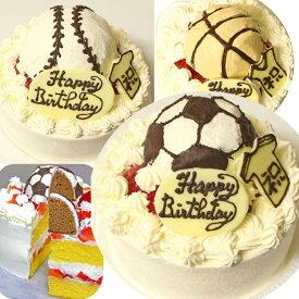 ボールケーキ7号 送料込み サッカーボールケーキ 野球ボールケーキ バスケットボールケーキ 選択 〜 フルーツケーキ いちごケーキ マンゴーケーキ 選択 〜 立体 キャラクター 大きいサイズ デコレーションケーキ