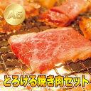 とろける 焼肉セット 梅コース 250g (カルビ 150g +バラ 100g / 約2人前)【送料無料】【焼肉 焼き肉 ヤキニク BBQ…