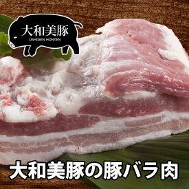 大和美豚 豚バラ 肉 (三枚肉) お徳用 1.0kg 豚肉 焼肉 焼き肉 ヤキニク やきにく あす楽対応 RCP