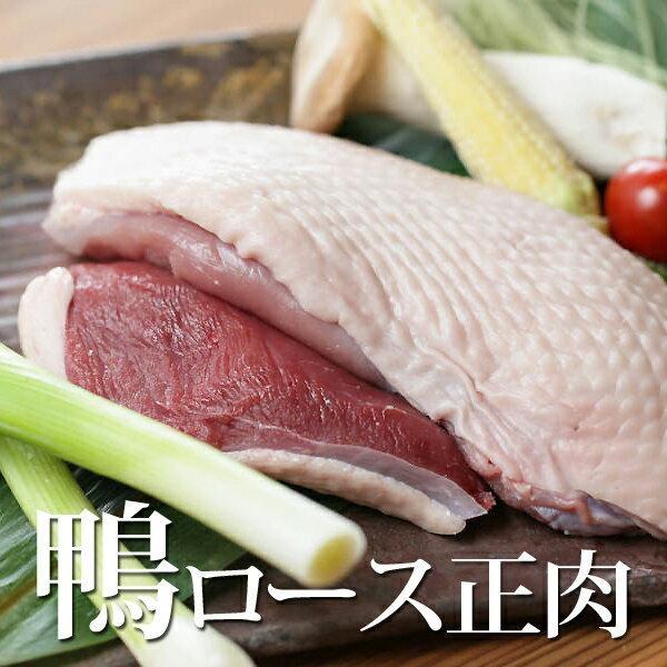 ヘルシー 鴨ロース 正肉 300g 【国産】【鴨肉】【鴨鍋】