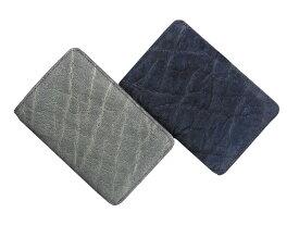 L.E.D.BITES RAY エルイーディーバイツ tito 象革 メンズ財布 ミドルサイズ 二つ折り財布(小銭入れあり) B-2363