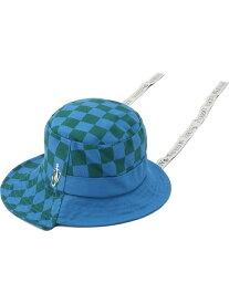 JW Anderson/ジェイダブリューアンダーソン/ASYMMETRIC BUCKET HAT/アシンメトリーバケットハット LHP エルエイチピー 帽子/ヘア小物 帽子その他 ブルー【送料無料】[Rakuten Fashion]