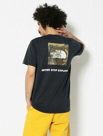 [Rakuten Fashion]THENORTHFACE/ザ・ノースフェイスS/SLogoCamoTeeショートスリーブロゴカモティーNT32035 BEAVER ビーバー カットソー Tシャツ ネイビー ブラック ベージュ【送料無料】