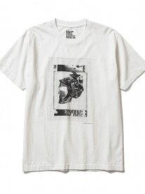 [Rakuten Fashion]MINEDENIM(マインデニム)Kosuke Kawamura × Stie-lo Photo Collage T-Shirts(skull) B'2nd ビーセカンド カットソー Tシャツ ホワイト ブラック【送料無料】