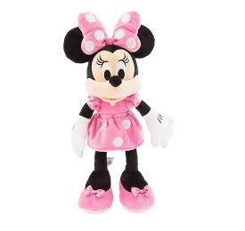 US版 ディズニーストア ミニーマウス プラッシュ ピンクドレス(ぬいぐるみ 女の子)