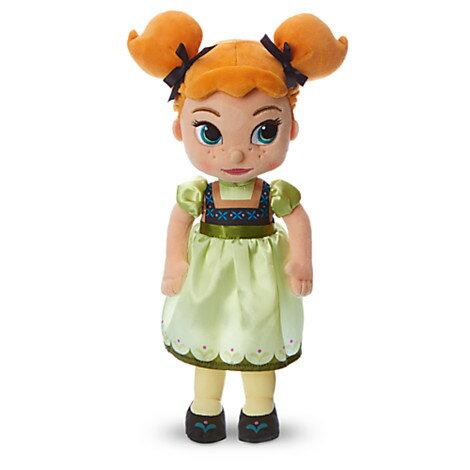 US版 ディズニー アニメーターコレクション アナと雪の女王 アナ プラッシュ(ぬいぐるみ)