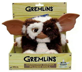 US Edition NECA gremlins dancing Gizmo plush doll